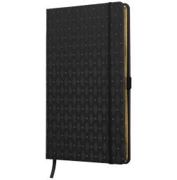 Anteckningsbok ROMB - svart/guld