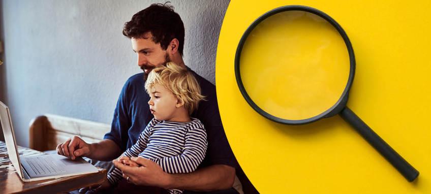 Hur kan praktiker hjälpa föräldrar att utveckla ett kritiskt förhållningssätt till information de hittar online?