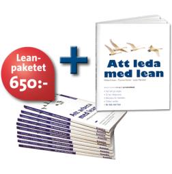 Leanpaket: 10 st Att arbeta med lean + Att leda med lean