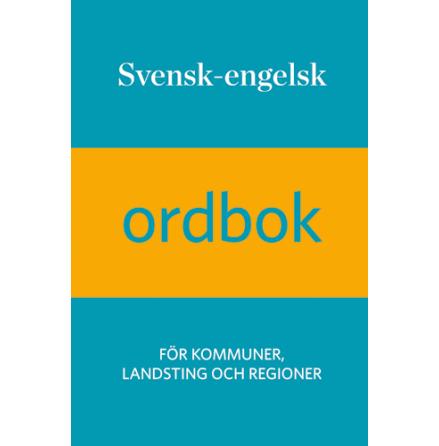 Svensk-engelsk ordbok